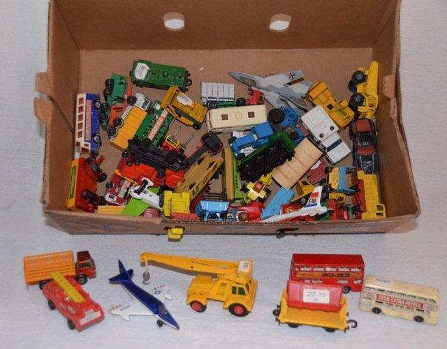 Dealer's Lot of Matchbox Cars