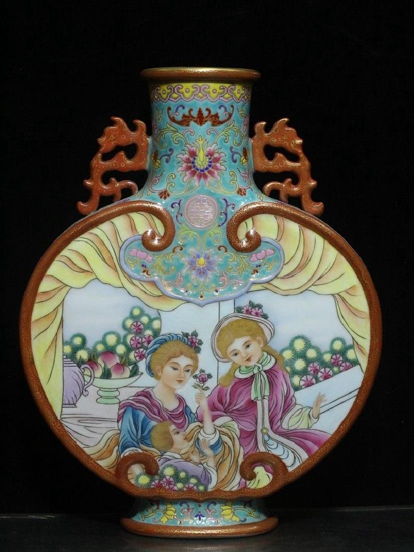 A Rare Porcelain Vase
