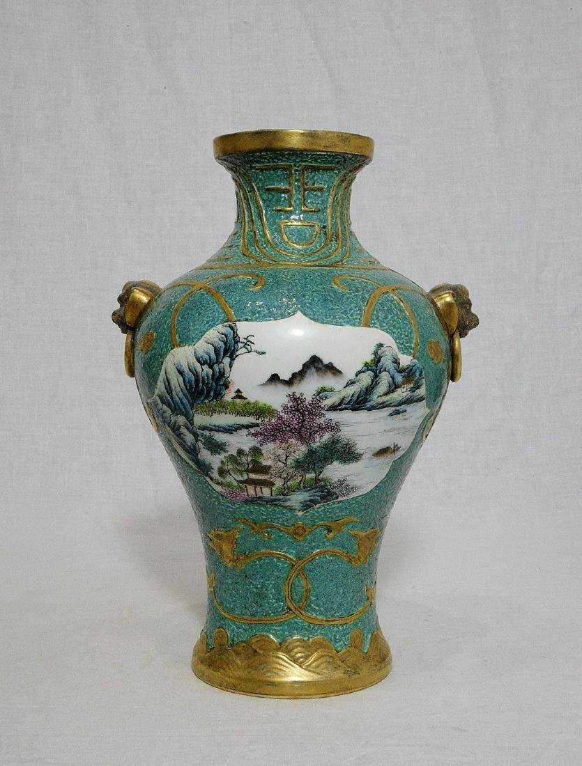 An Extremely Rare Lu-Jun Glazed Vase