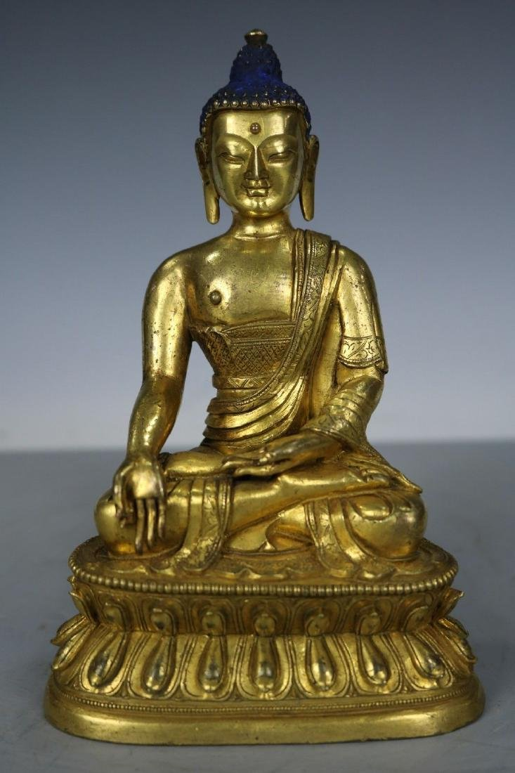 Tibetan Bronze Figure of Buddha