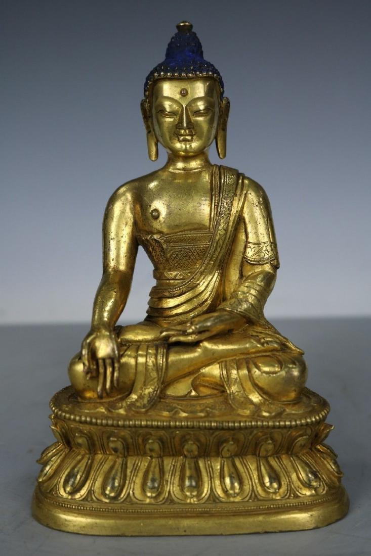 Tibetan Bronze Figure of Buddha