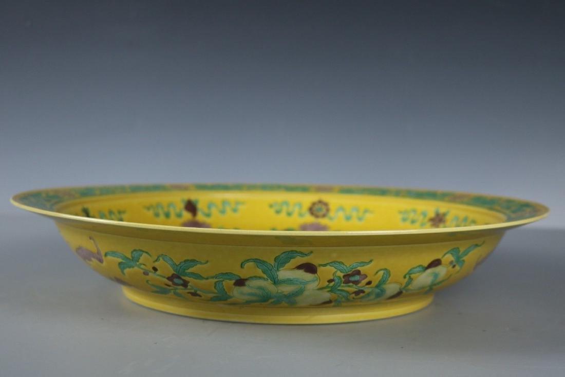 A Famille Rose Porcelain Dish - 5