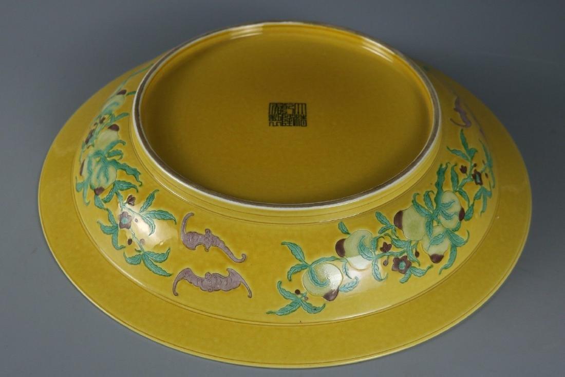 A Famille Rose Porcelain Dish - 7