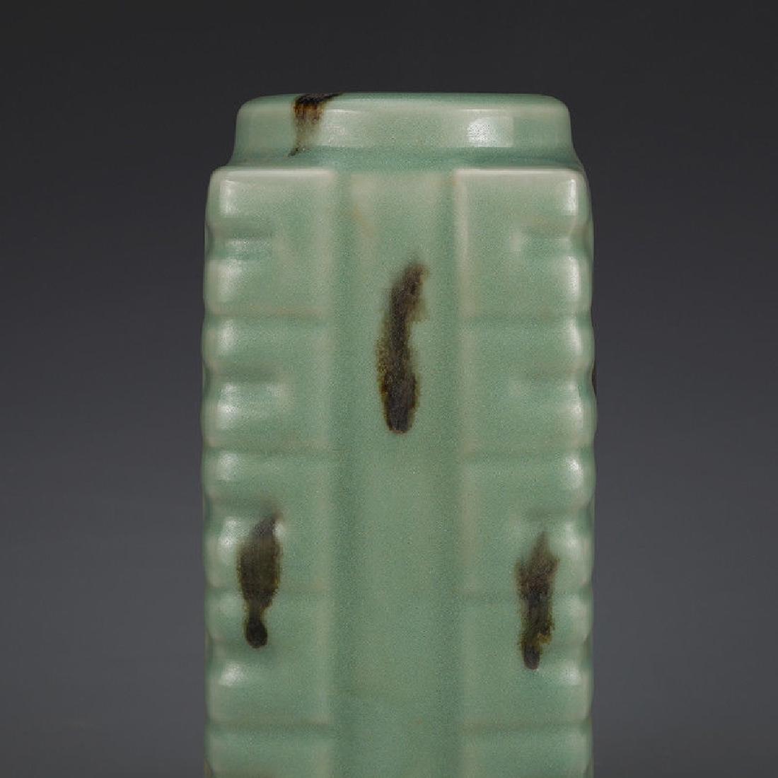 A Longquan Celadon Porcelain Vase - 2
