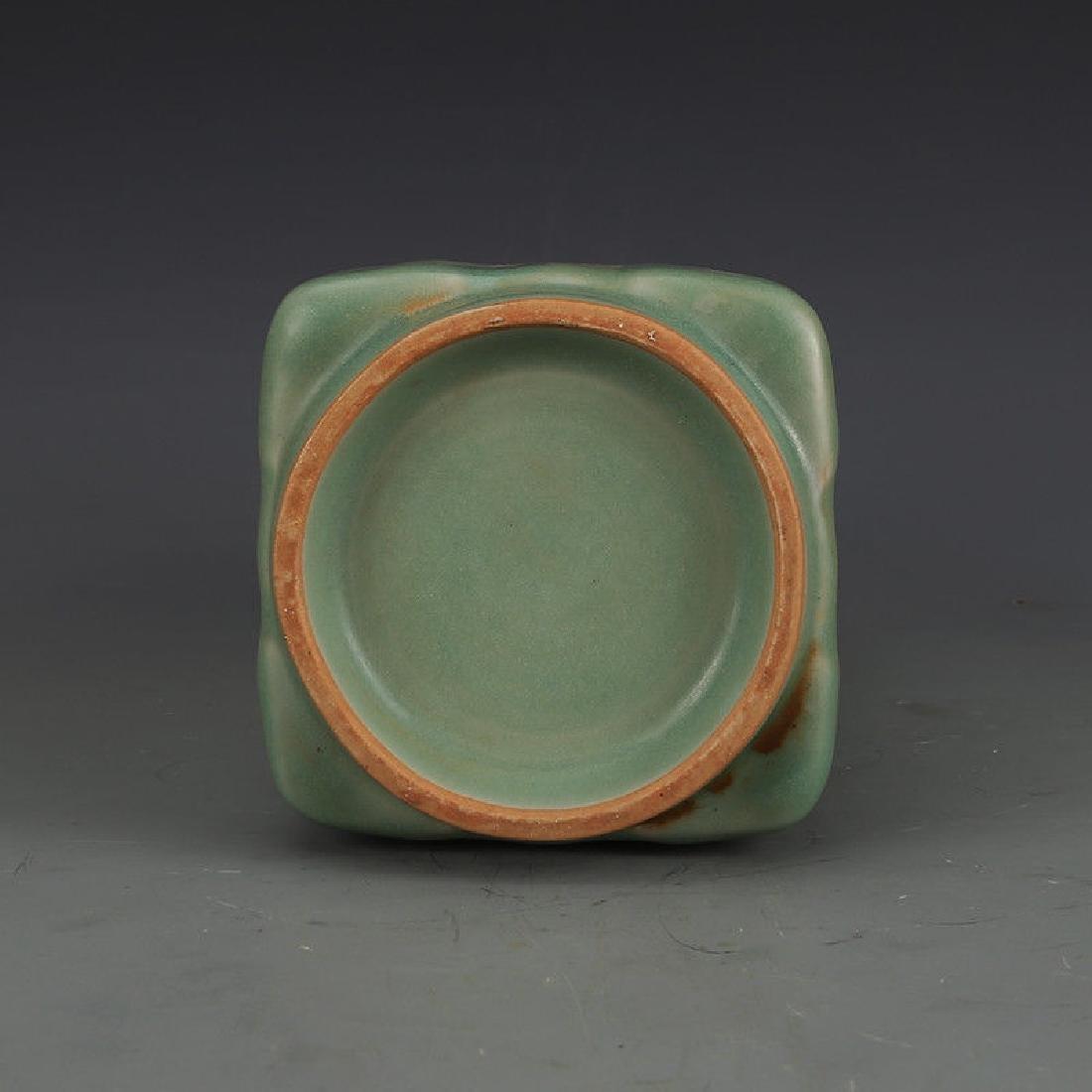 A Longquan Celadon Porcelain Vase - 5