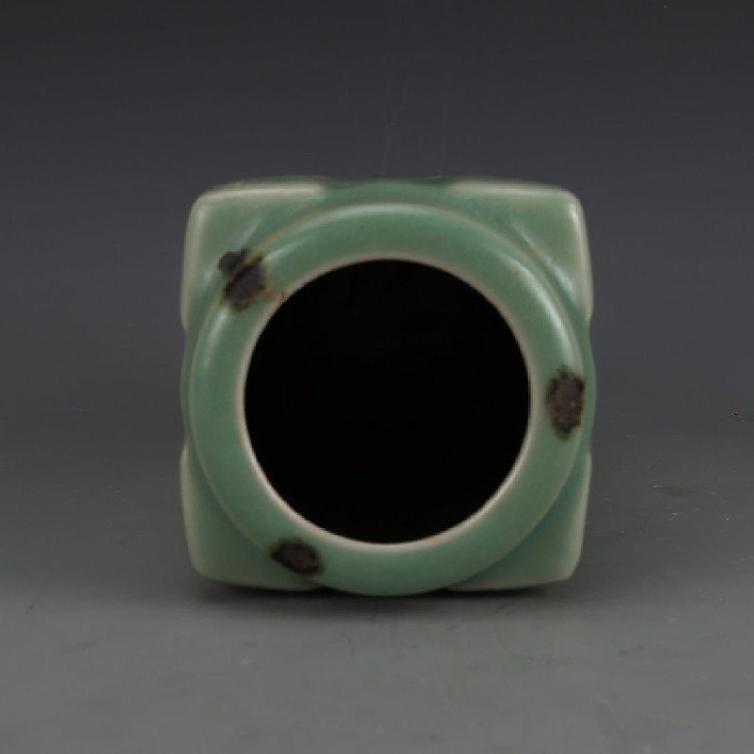 A Longquan Celadon Porcelain Vase - 6