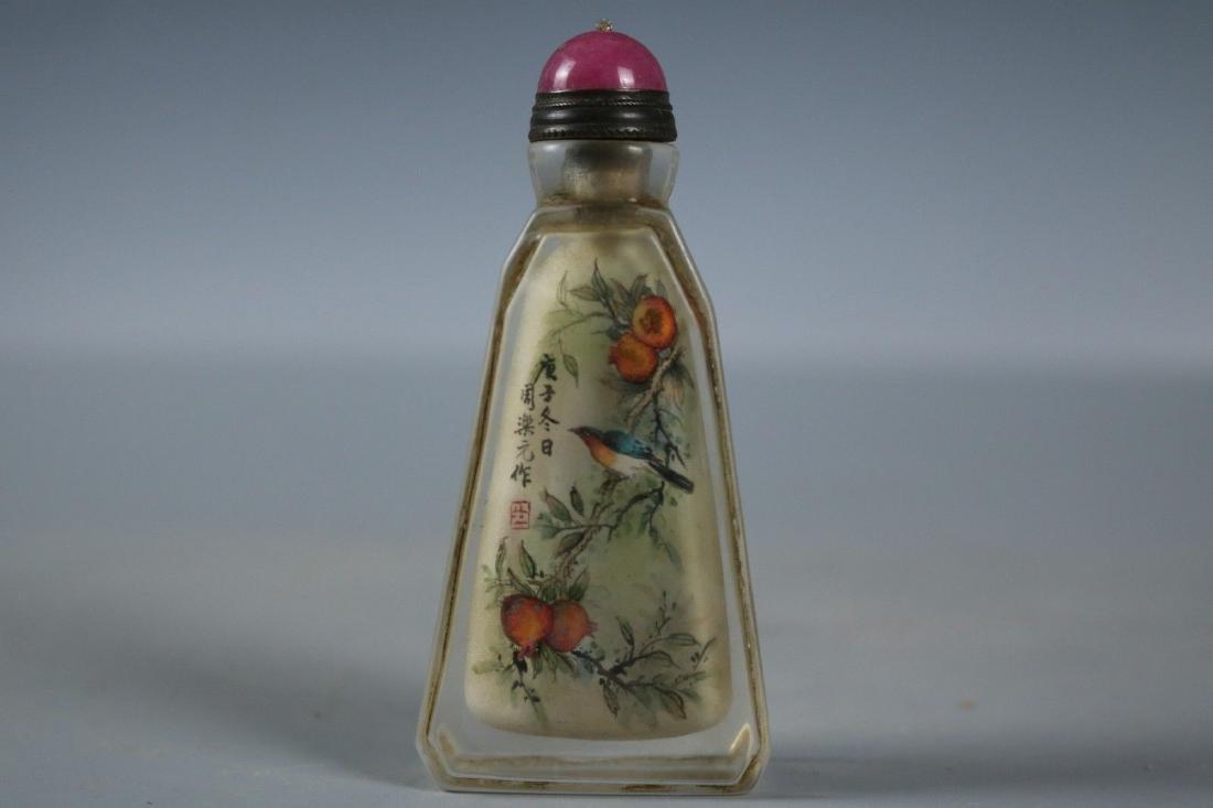 A Glass Snuff Bottle