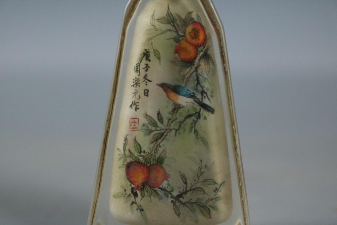 A Glass Snuff Bottle - 3