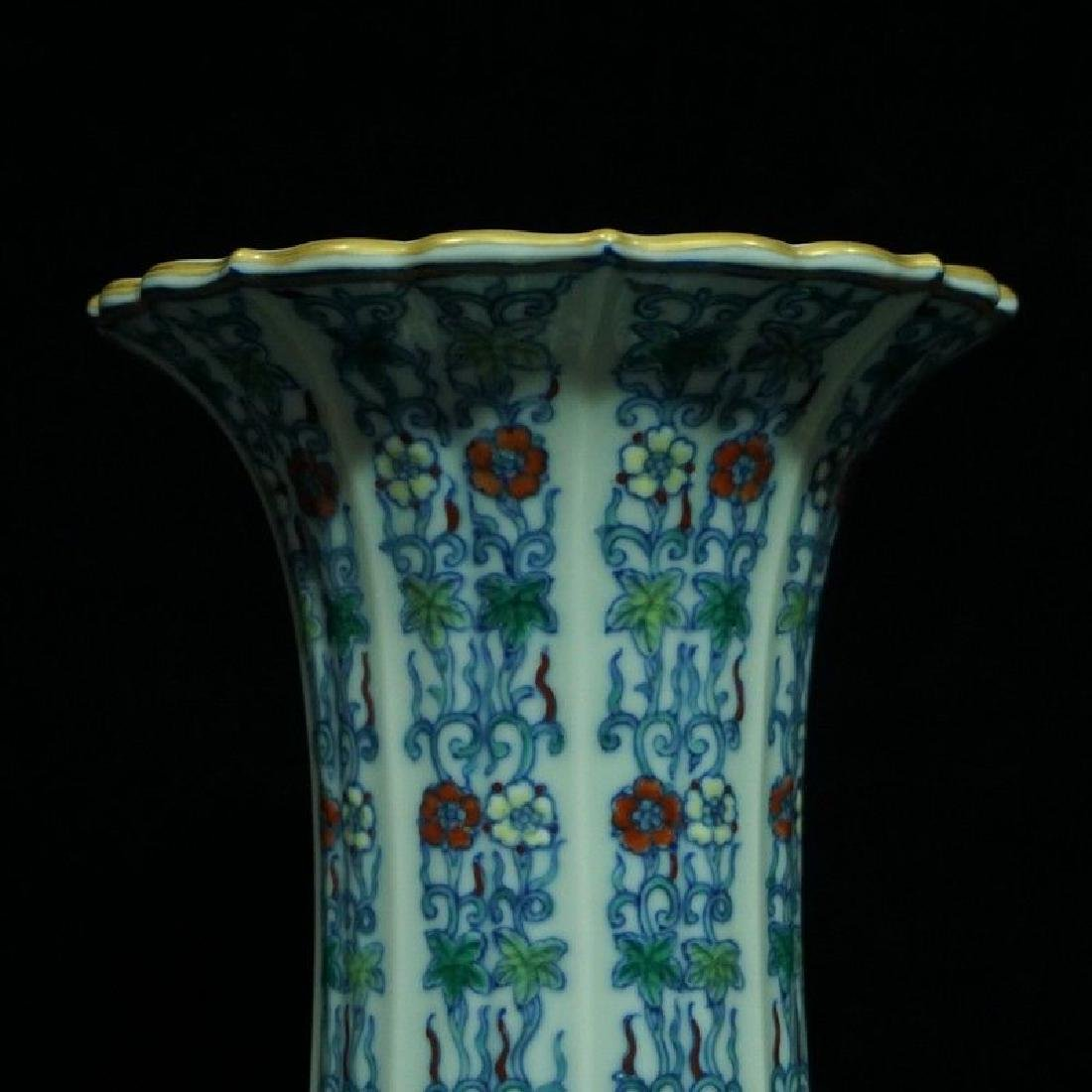 A Doucai Porcelain Vase - 2