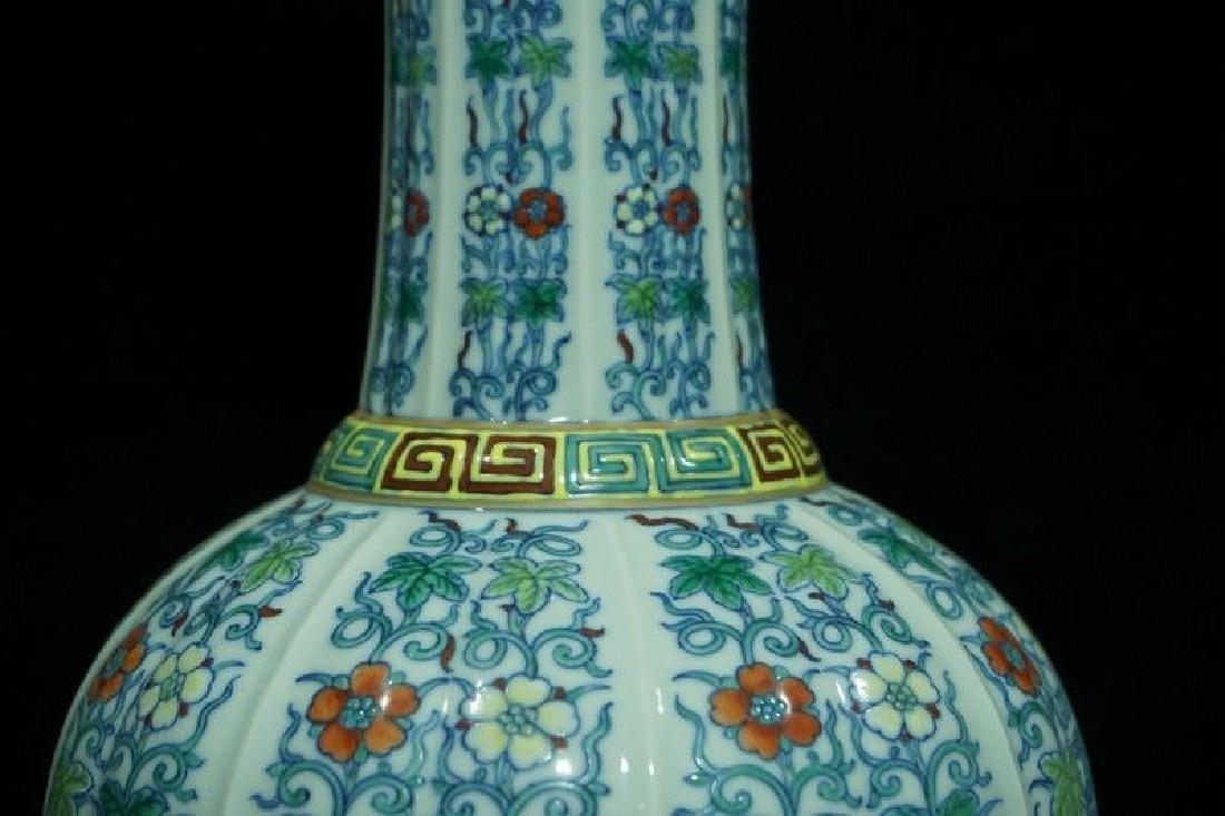 A Doucai Porcelain Vase - 3