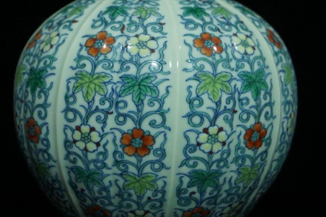 A Doucai Porcelain Vase - 4
