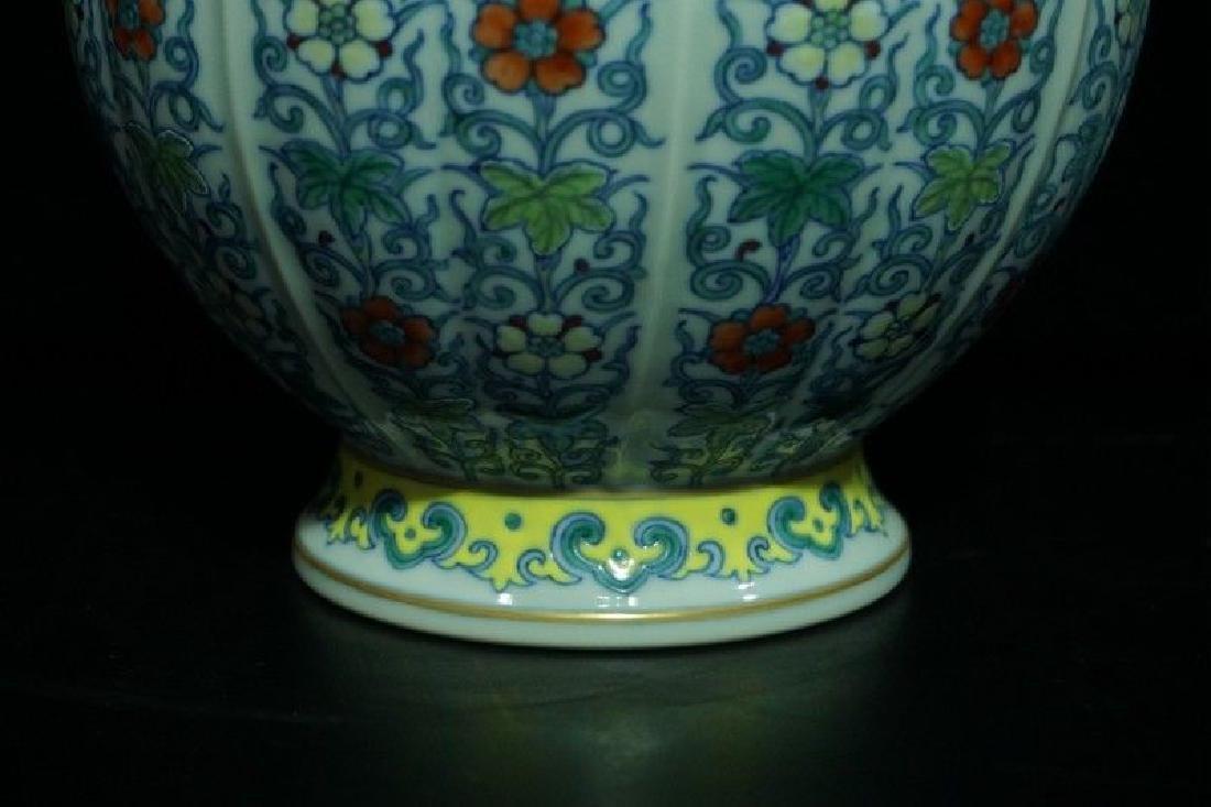 A Doucai Porcelain Vase - 5
