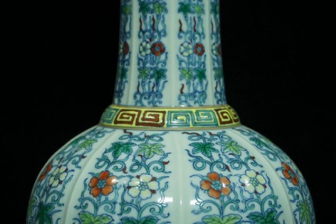 A Doucai Porcelain Vase - 6