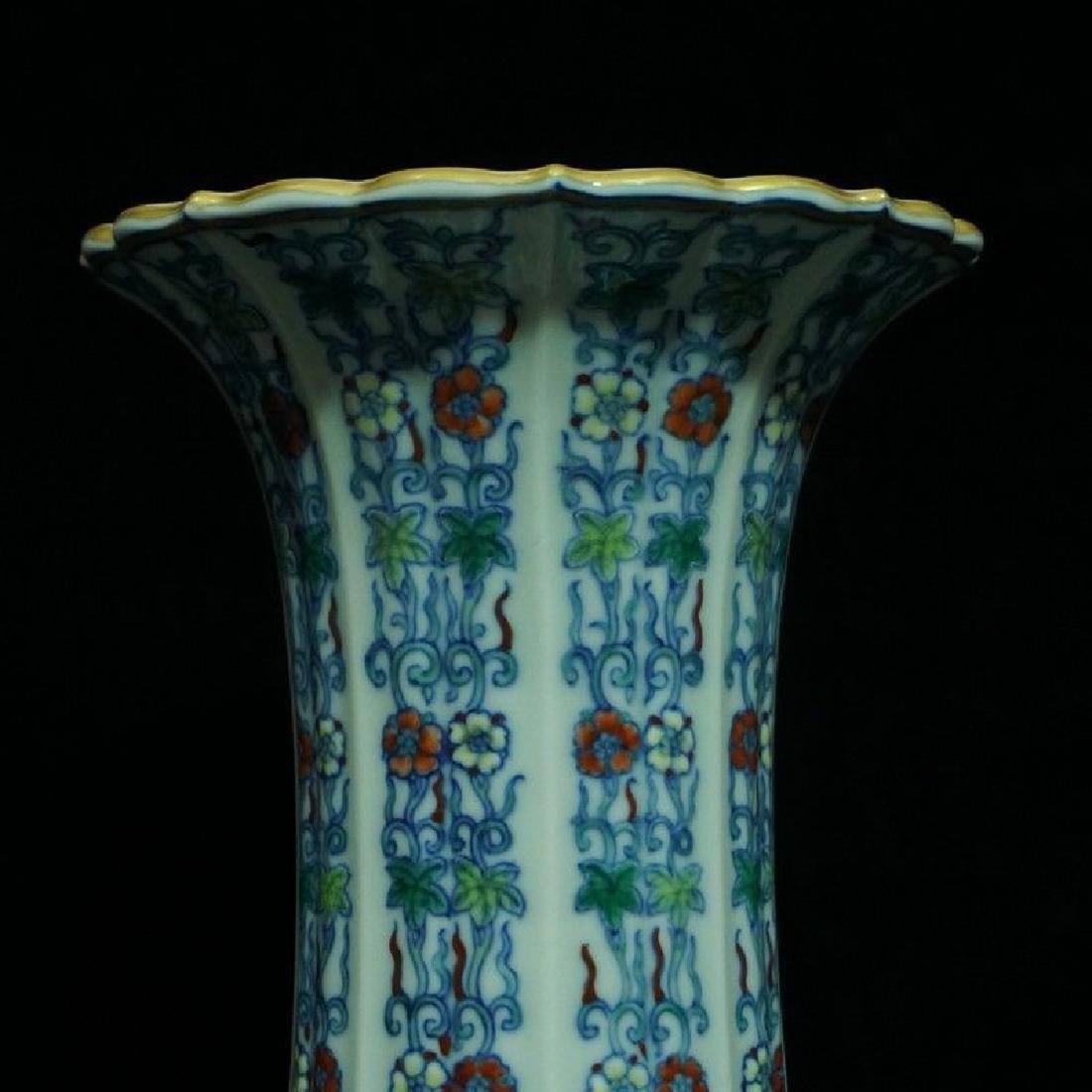 A Doucai Porcelain Vase - 7