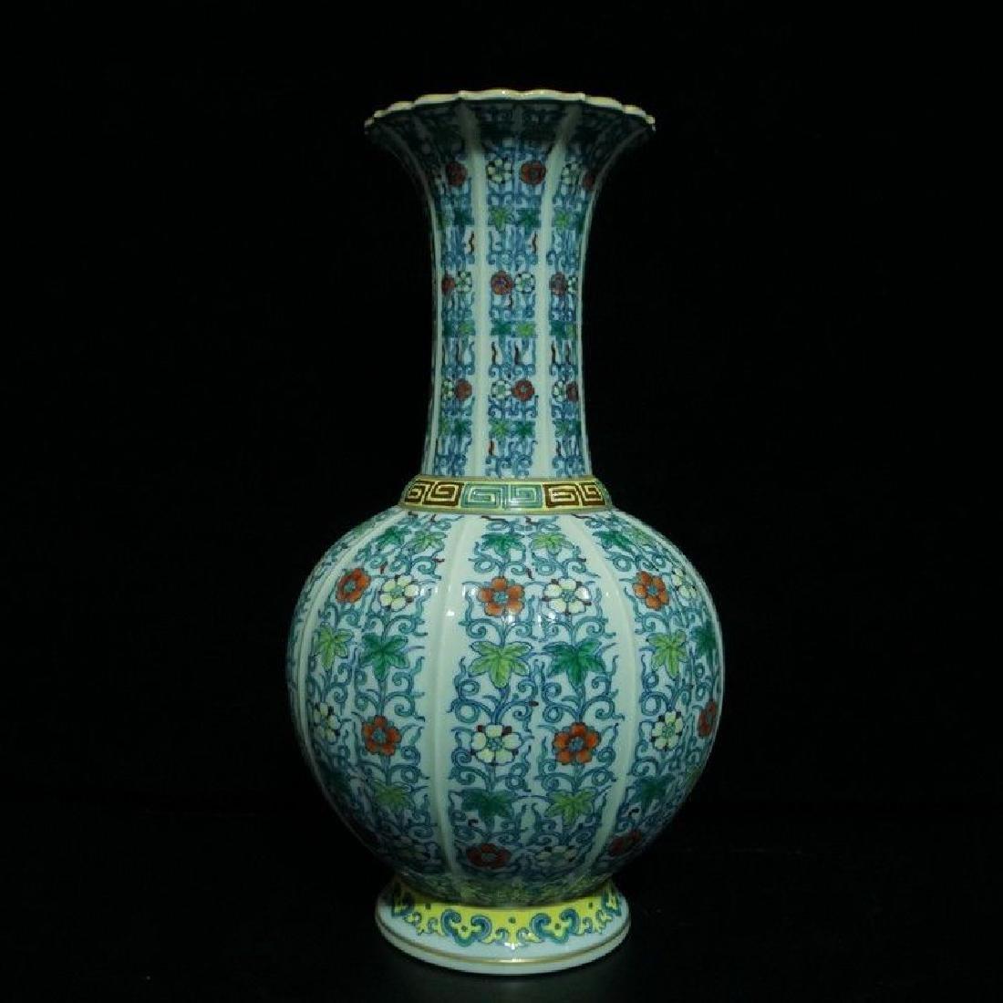 A Doucai Porcelain Vase - 8