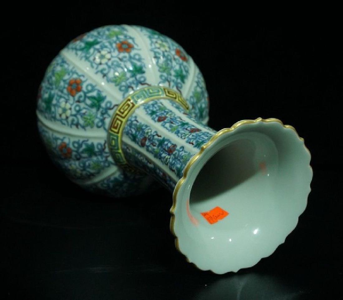 A Doucai Porcelain Vase - 9