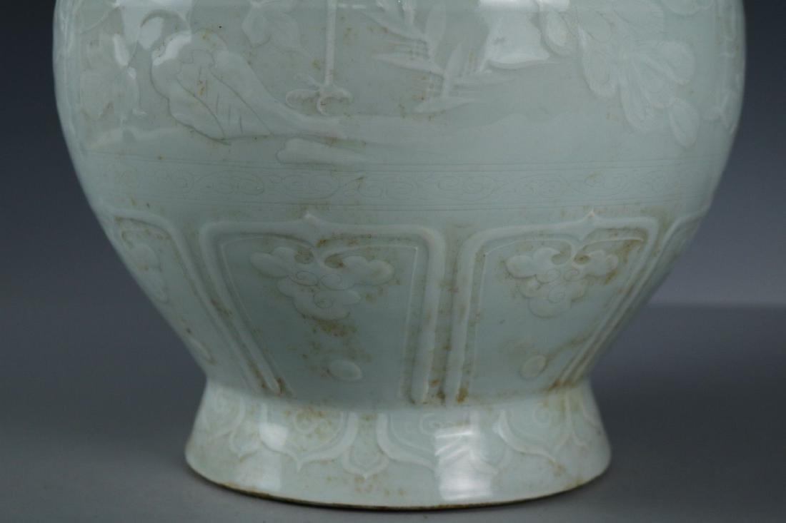A White Glaze Porcelain Vase - 4