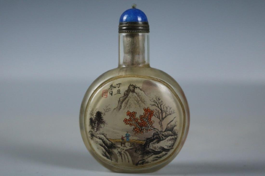 A Glass Snuff Bottle - 4