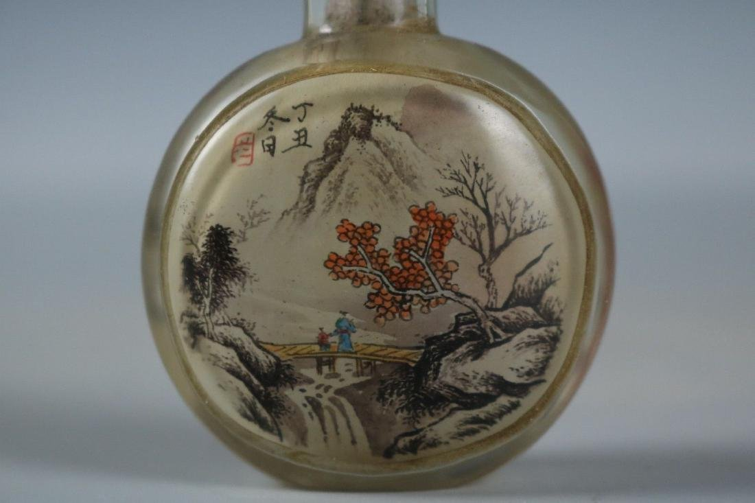A Glass Snuff Bottle - 5