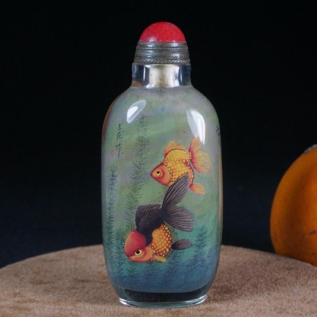 An Agate Snuff Bottle - 6
