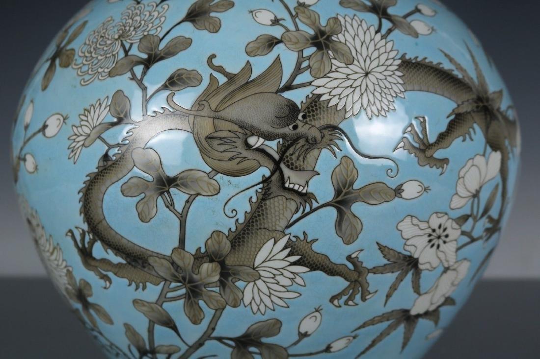 A Famille Rose Porcelain Vase - 7