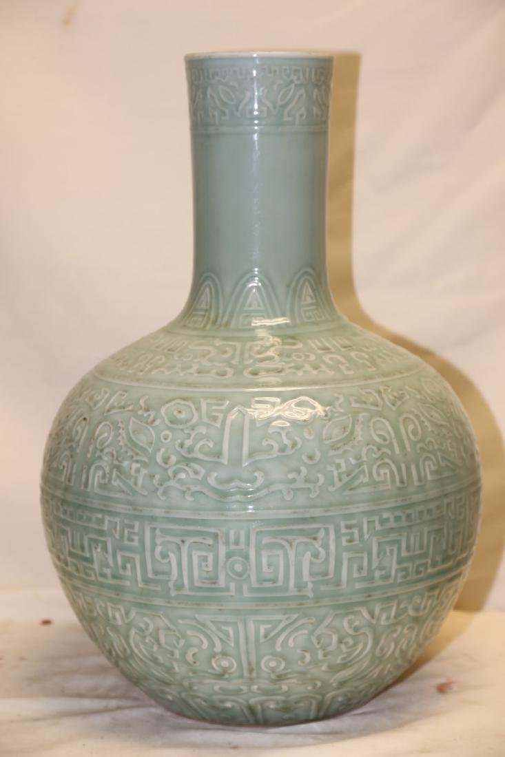 A Celadon Porcelain Vase - 2