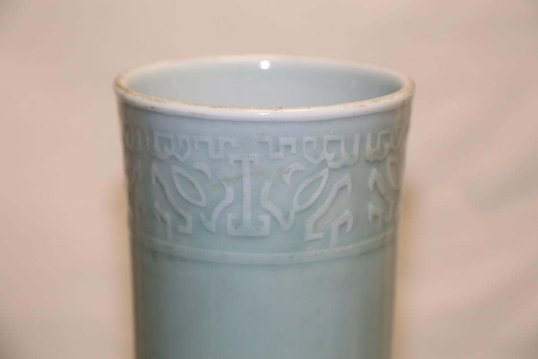 A Celadon Porcelain Vase - 5