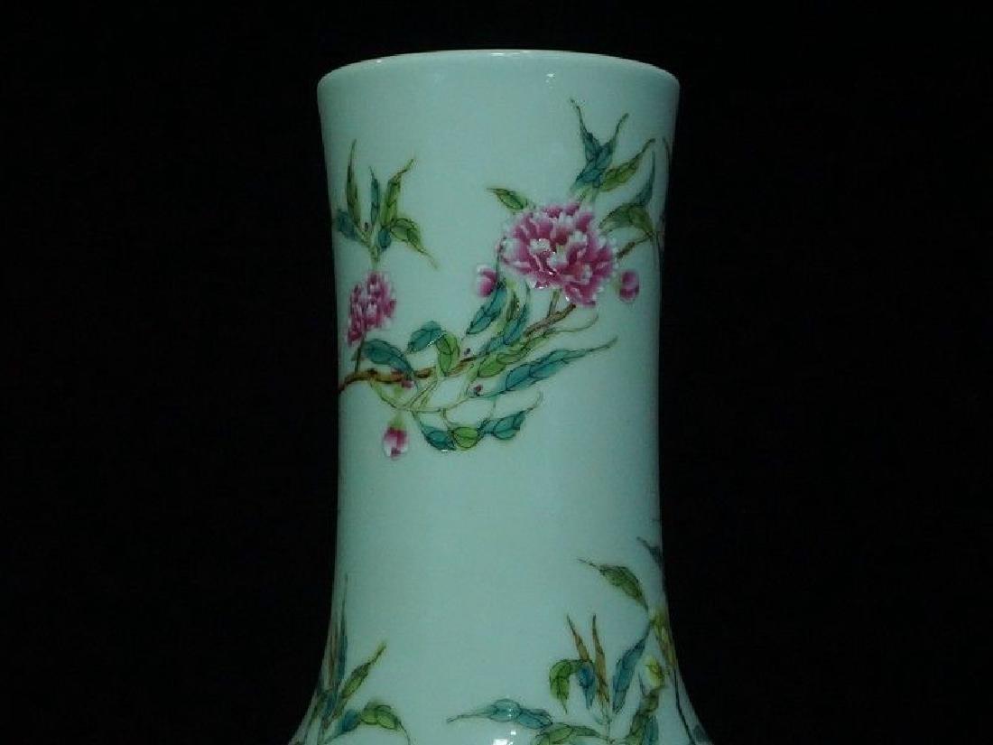 A Famille Rose Porcelain Vase - 2