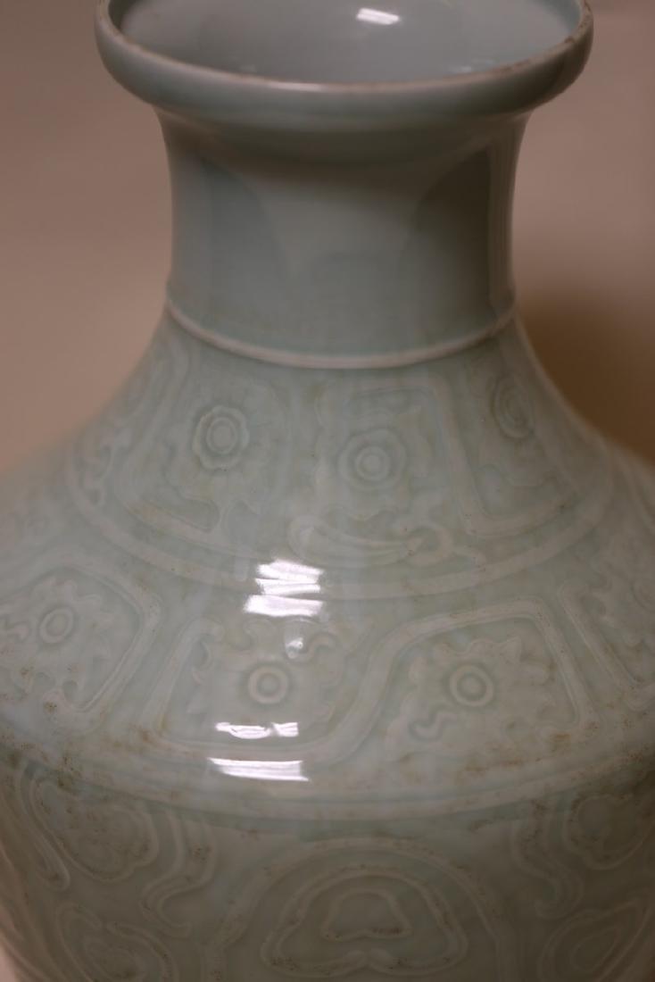 A Celadon Porcelain Vase - 4