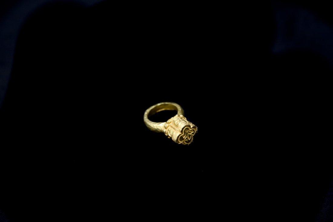 Ring 22K Gold of Oc Eo Culture