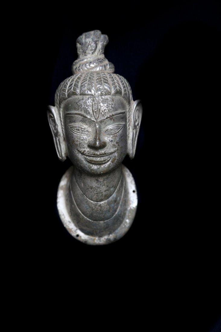 Gold Head of Shiva