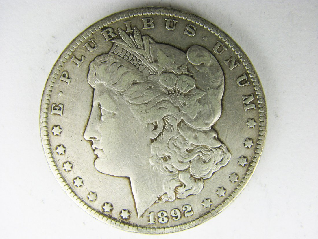 Morgan Silver Dollar 1892