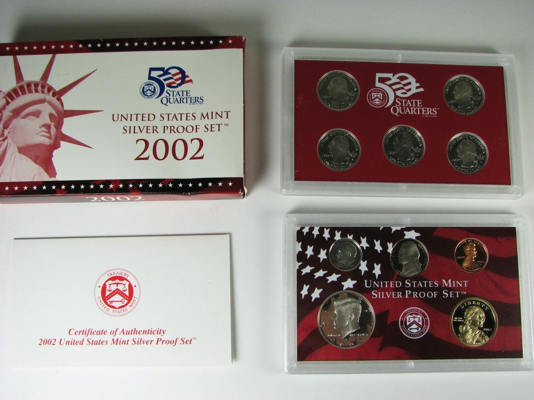 2003 US Mint Silver Proof Coin Set