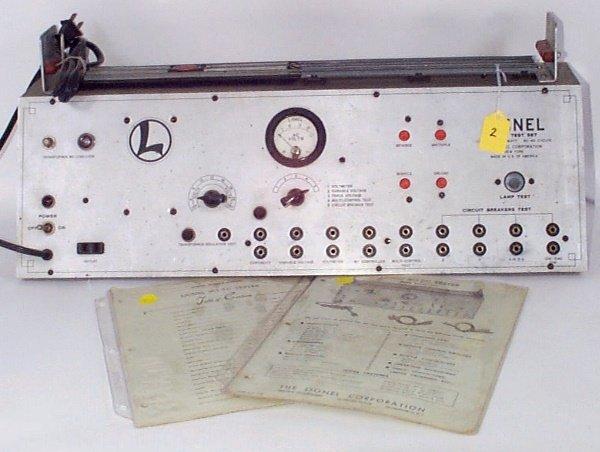 2: 1948 Service Station Test Set 5C w/Original Instruct