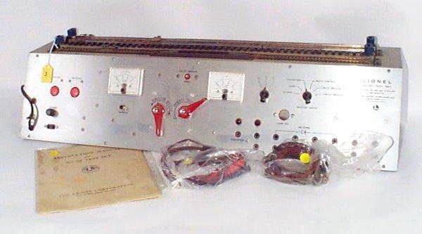 3: 1961 Service Station Test Set 5F w/Original Instruct