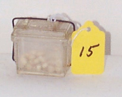 15: 196 Clear Plastic Smoke Pellet Container w/Wire Sea