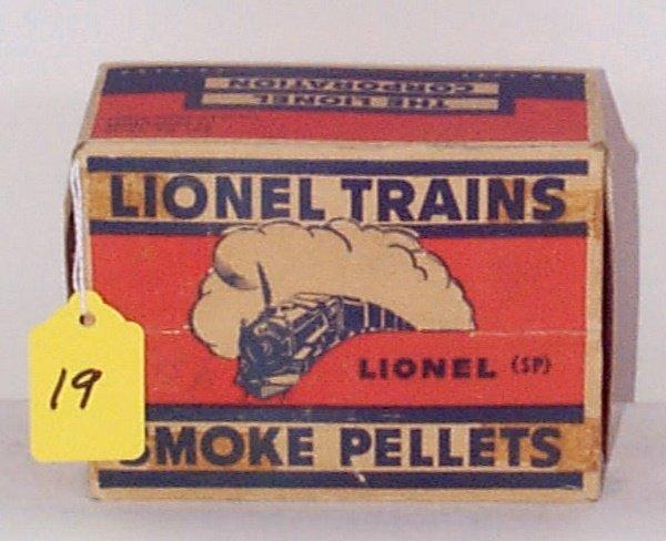 19: 12 Mixed Labels SP Smoke Pellet Bottles in Master C