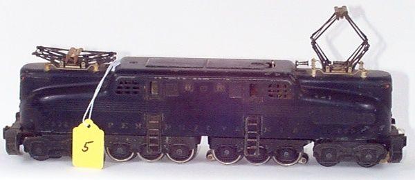 2332 Black PRR GG-1, Very Weak Gold Stripes & Let