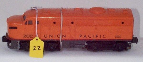 202 UP Orange Alco A Prototype on 2023 Gray Frame