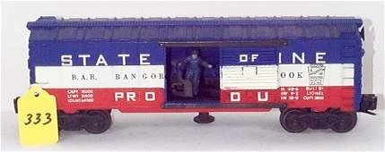 1333: 3494-275 BAR Opr. Box Car, VG