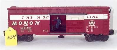 1334: 3494-550 Monon Opr. Box Car, VG
