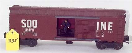 "1335: 3494-625 Soo Opr. Box Car, Slightly Faded ""Soo"" L"