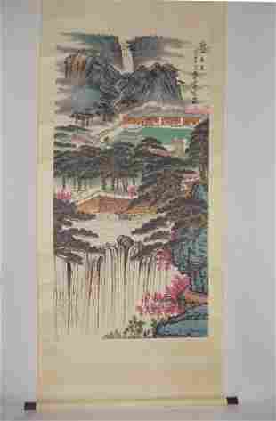 Landscape Attributed to Qian Songyan