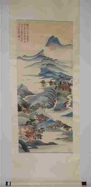 Mogu Mountains Attributed to Zhang Daqian