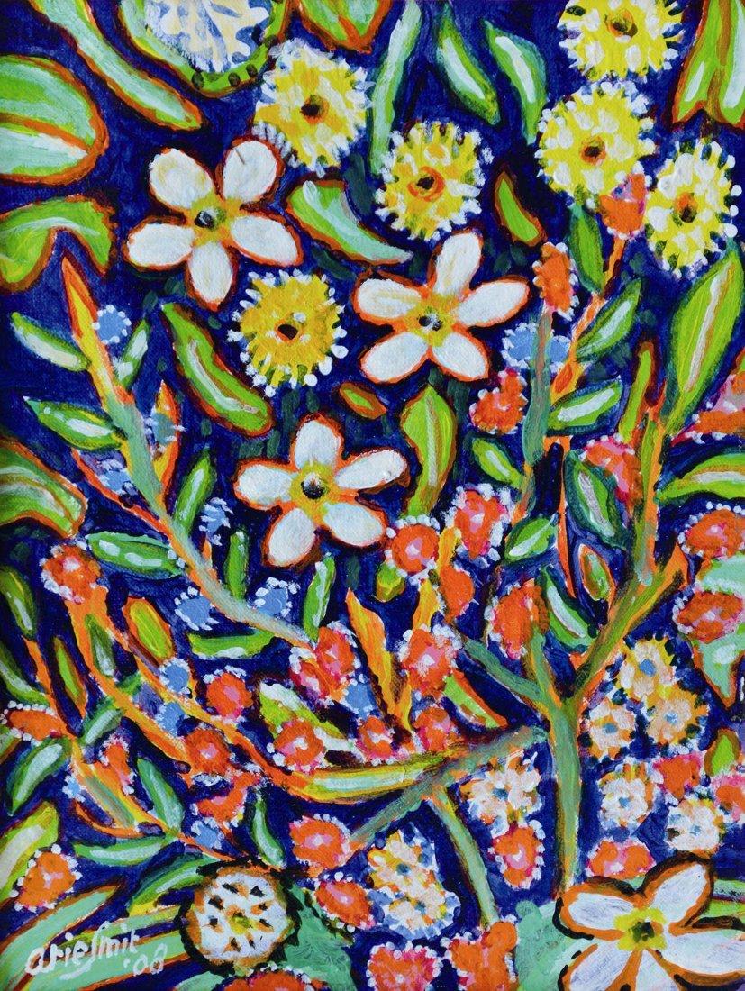 Arie Smit, Small Flowers in Garden
