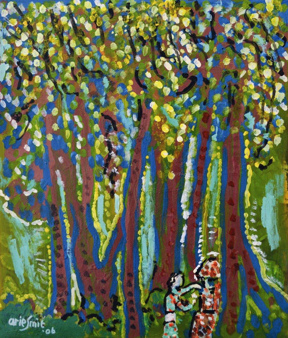 Arie Smit, White Flowers