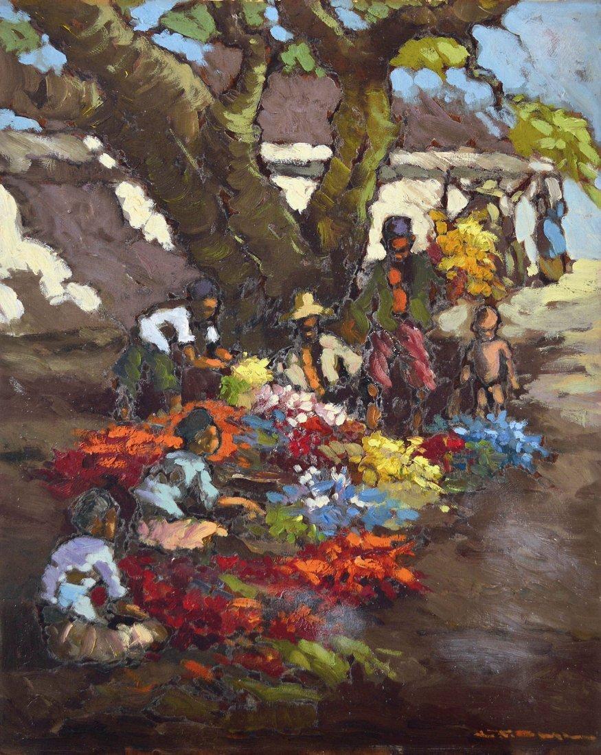 Lucien Frits Ohl, Flower Seller