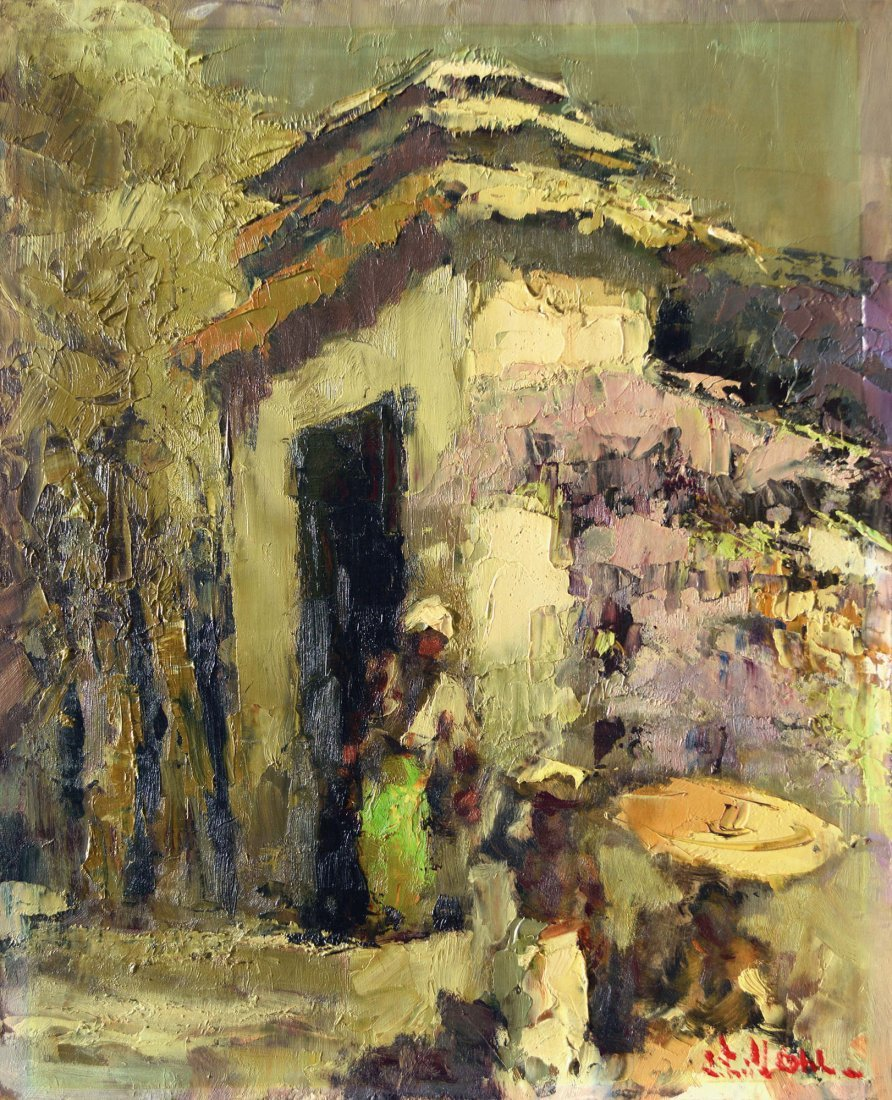 Lucien Frits Ohl, At the Front Gate