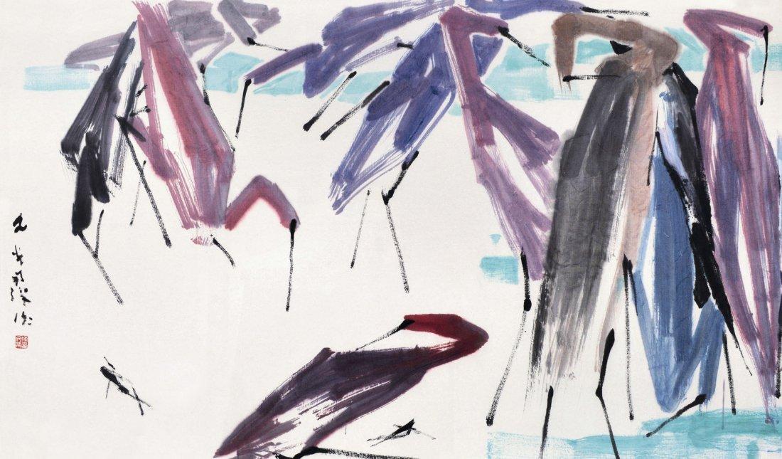 Chen Wen Hsi, Herons