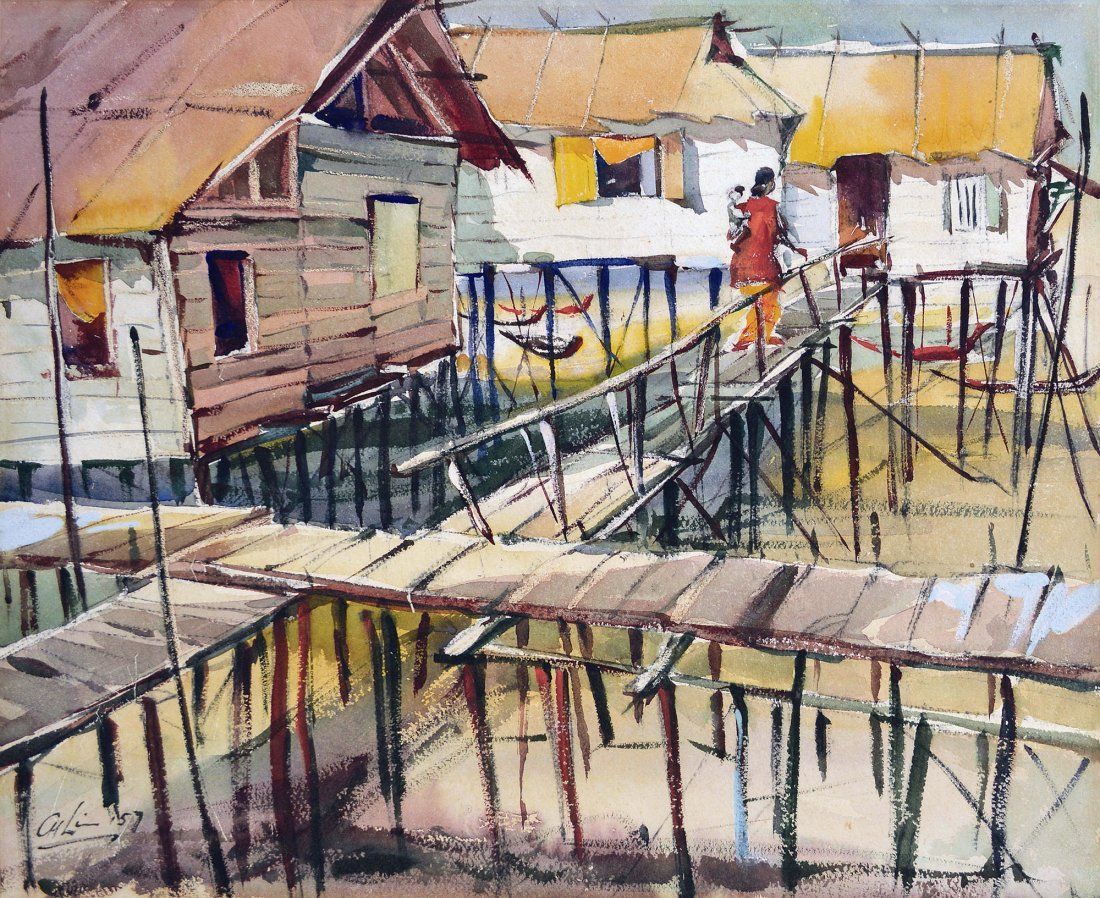 Lim Cheng Hoe, Boat Houses